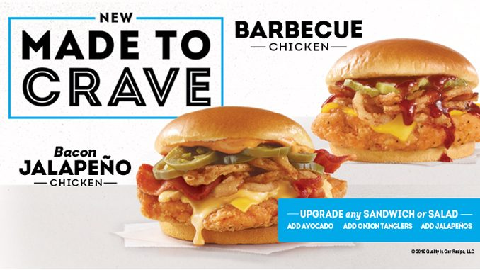 Wendy's Canada Launches New Made To Crave Menu Featuring Chicken Sandwiches