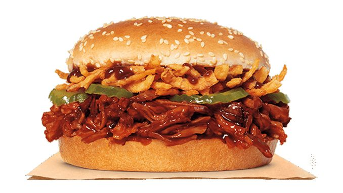 Burger King Canada Debuts New Pulled Pork King Sandwich