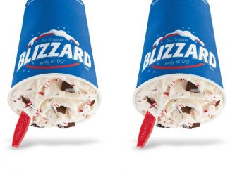 Dairy Queen Canada Welcomes Back Candy Cane Chill Blizzard