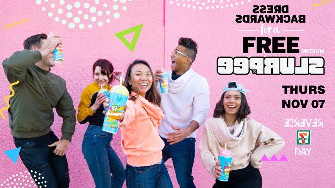 Dress Backwards For A Free Slurpee At 7-Eleven Canada On November 7, 2019