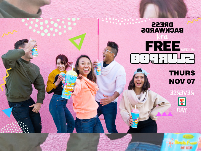 Dress Backwards For A Free Slurpee At 7-Eleven Canada On November 7, 2019
