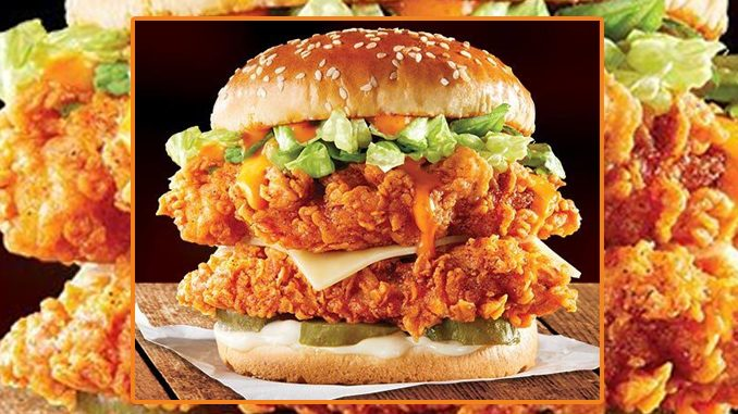 KFC Canada Introduces New BBQ Big Crunch Stacker Sandwich