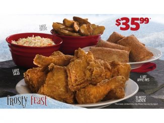Mary Brown's Introduces New Frosty Feast