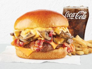 The Bacon Portabella Mushroom Melt Is Back At Wendy's Canada For A Limited Time