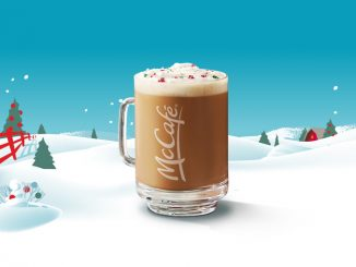 The Peppermint Latte Returns To McDonald's Canada On November 12, 2019