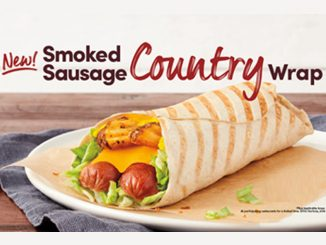 Tim Hortons Introduces New Smoked Sausage Country Wrap