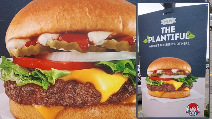 Wendy's Canada Testing New Plant-Based Plantiful Burger In Ontario