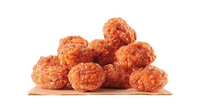 Burger King Canada Debuts New Spicy Popcorn Chicken