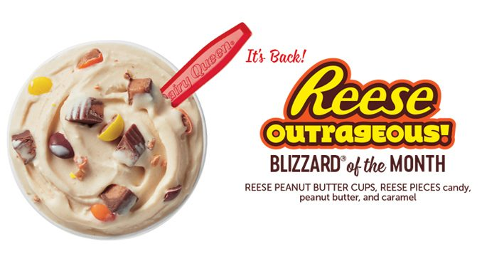 Dairy Queen Canada Welcomes Back Reese Outrageous Blizzard