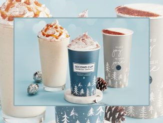 Second Cup Introduces New Cinnamon Roll White Frocho And Cinnamon Roll White Hot Chocolate Drinks