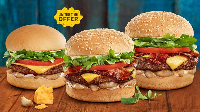 A&W Canada Welcomes Back Bistro Burger Lineup For A Limited Time