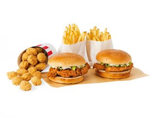 KFC Canada Puts Together 2 Can Dine For $9.99 Deal