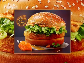 McDonald's Canada Welcomes Back The Spicy Habanero McChicken Sandwich