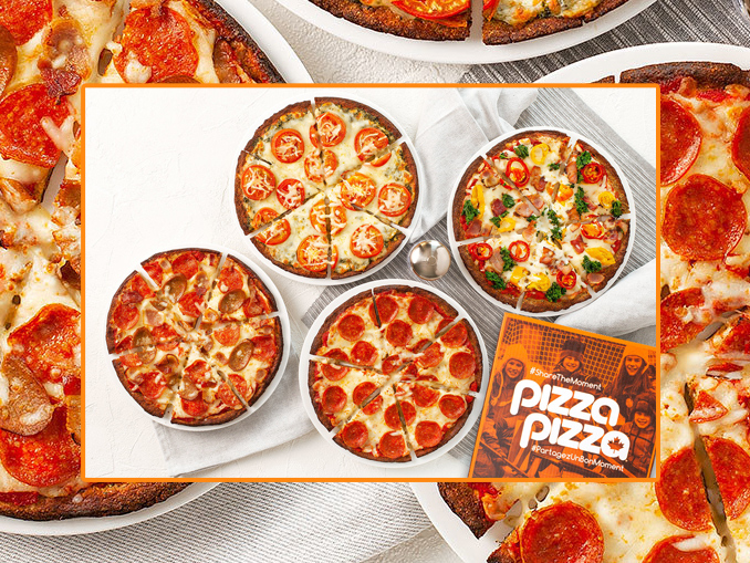 Pizza Pizza Debuts New low-Carb Keto Crust