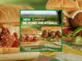 Subway Canada Introduces New Plant-Based Beyond Meatball Subs