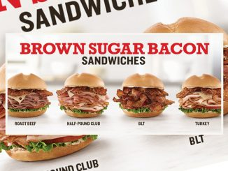 Brown Sugar Bacon Sandwiches Are Back At Arby's Canada For A Limited Time
