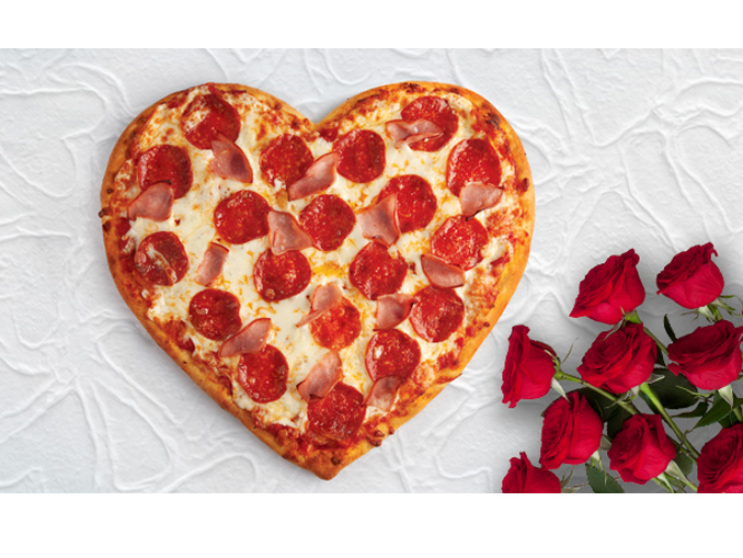 Heart Pizzas Are Back At Pizza Pizza In Celebration Of Valentine's Day 2020