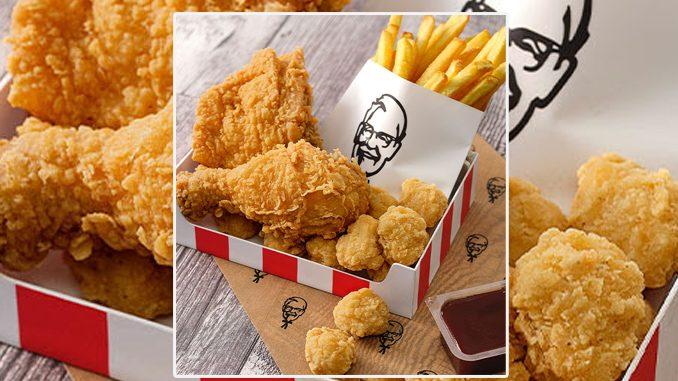 KFC Canada Puts Together New $4.95 Extra Crispy Box