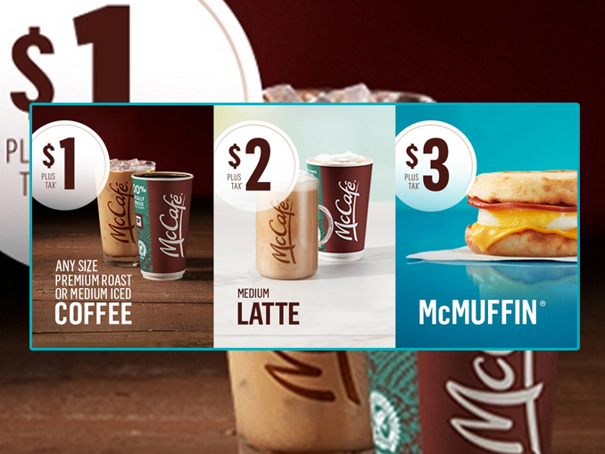 McDonald's Canada Offers $1 Any Size Coffee Through March 8, 2020