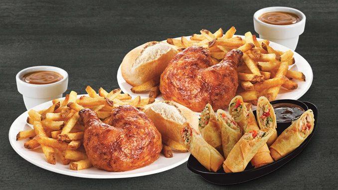 Swiss Chalet Hosting Free Quarter Chicken Dinner Event Through February 23, 2020