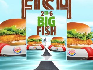 2 For $6 Big Fish Sandwich Deal At Burger King Canada
