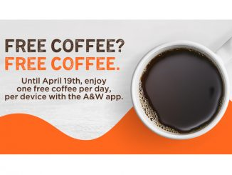 A&W Canada Offers Free Coffee Daily Through April 19, 2020