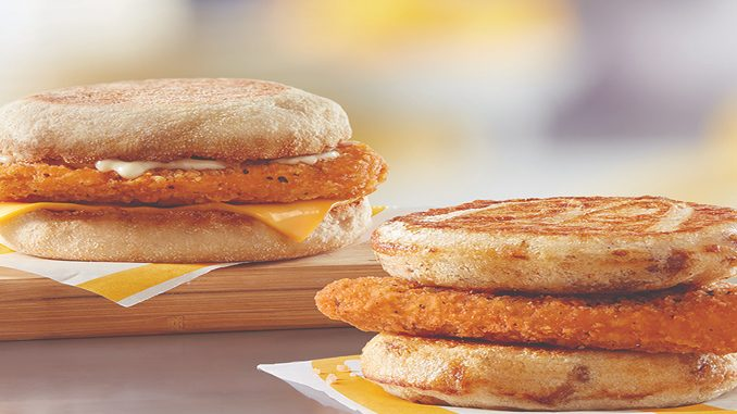 McDonald's Canada Introduces New Chicken McGriddles And Chicken McMuffin Breakfast Sandwiches