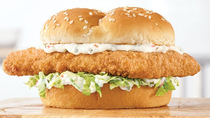 The Crispy Fish Sandwich Is Back At Arby's Canada For 2020 Seafood Season