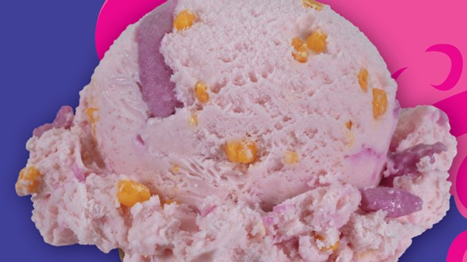 Baskin-Robbins Canada Scoops New Cotton Candy Crackle Ice Cream