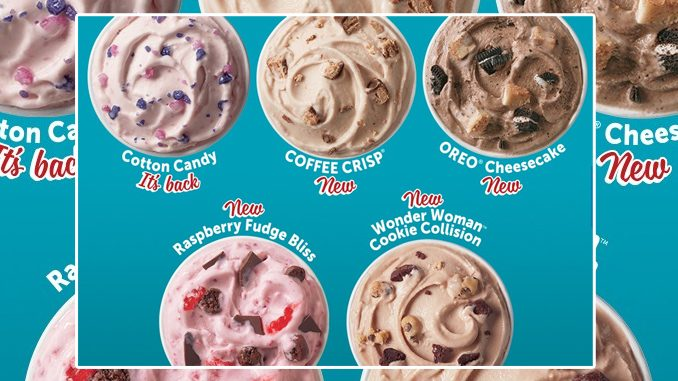 Dairy Queen Canada Reveals New 2020 Summer Blizzard Menu