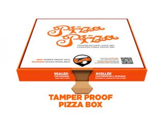 Pizza Pizza Offers New Tamper Proof Pizza Box And Contactless Delivery