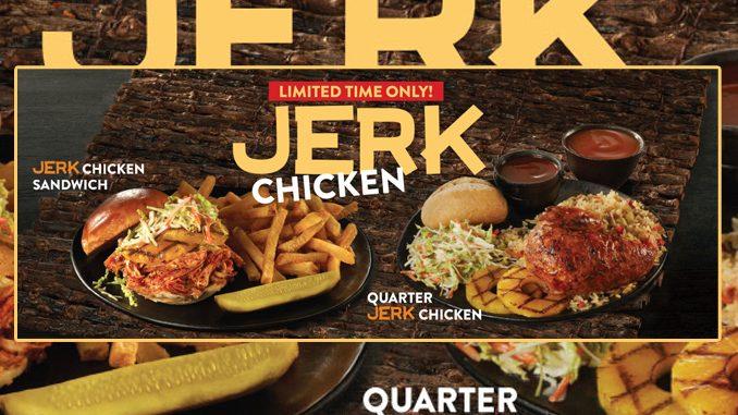 Swiss Chalet Introduces New Jerk Chicken