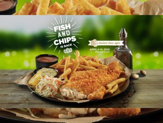 Swiss Chalet Welcomes Back Fish And Chips Through April 13, 2020