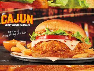 Burger King Canada Debuts New Cajun Crispy Chicken Sandwich