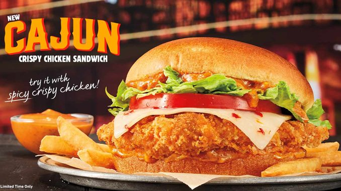 Burger King Canada Debuts New Cajun Crispy Chicken Sandwich