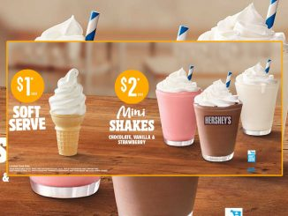 Burger King Canada Offers $1 Soft Serve Cones And $2 Mini Shakes