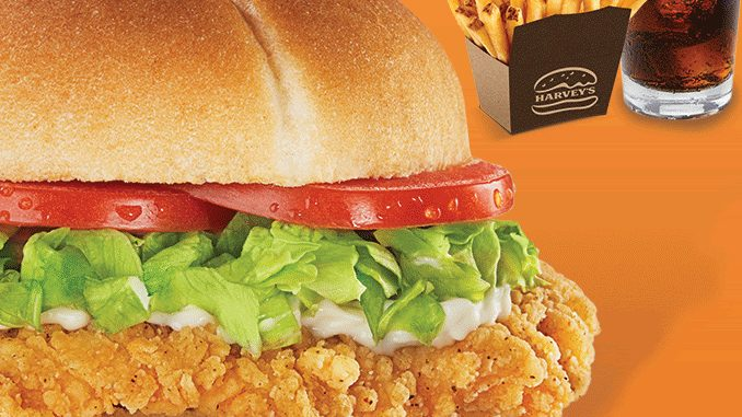 Harvey's Offers $7.99 Chicken Meal Deal Through May 24, 2020