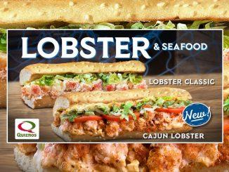 Quiznos Canada Debuts New Cajun Lobster Sub
