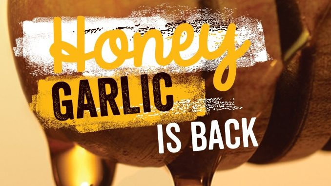 Swiss Chalet Welcomes Back Honey Garlic Chicken