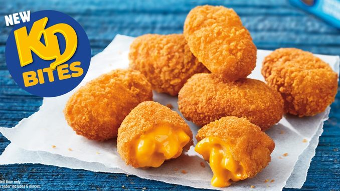 Burger King Canada Introduces New KD Bites