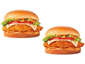 Burger King Canada Welcomes Back Cajun Crispy Chicken Sandwiches