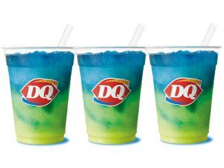 Dairy Queen Canada Pours New Lemonade Twisty Misty Slush