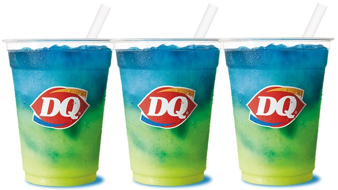 Dairy Queen Canada Pours New Lemonade Twisty Misty Slush