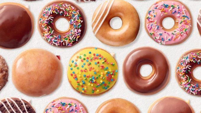 Free Doughnuts At Krispy Kreme Canada Through June 5, 2020