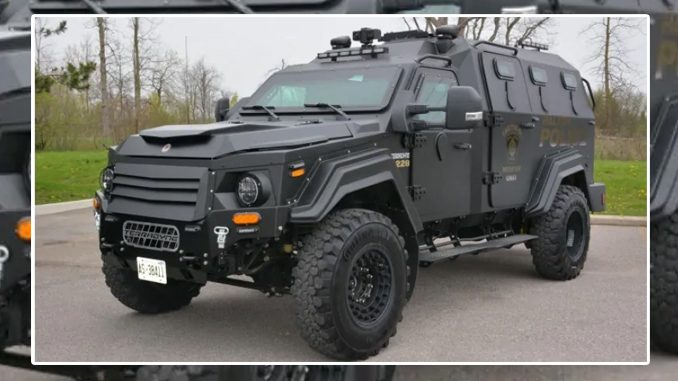 Halifax Armoured Police Vehicle Purchase In Jeopardy As 'Defund The Police' Movement Gains Traction