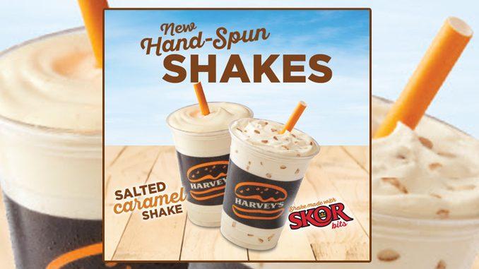 Harvey's Adds New Salted Caramel Shake And New Skor Shake