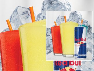 Harvey's Pours New Red Bull Slushie Frozen Beverages