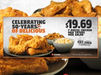 Mary Brown's Celebrates 50 Years With New $19.69 Meal Deal Through August 23, 2020