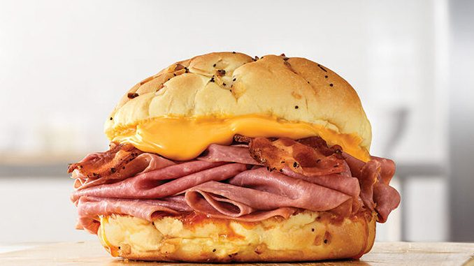 Arby's Canada Welcomes Back Bacon Beef 'N Cheddar Sandwich