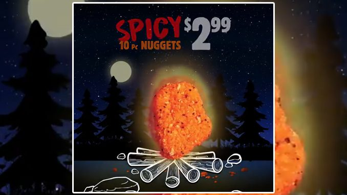 Burger King Canada Welcomes Back Spicy Chicken Nuggets
